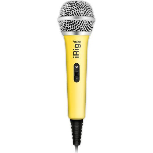 IK Multimedia iRig Voice iOS/Android Handheld IP-IRIG-MICVOY-IN