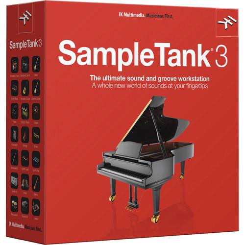 IK Multimedia SampleTank 3 Sample-Based Virtual ST-300HCD-IN