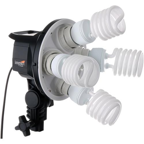 Impact FF-OF4 Octa 4-Socket Fluorescent Fixture FF-OF4