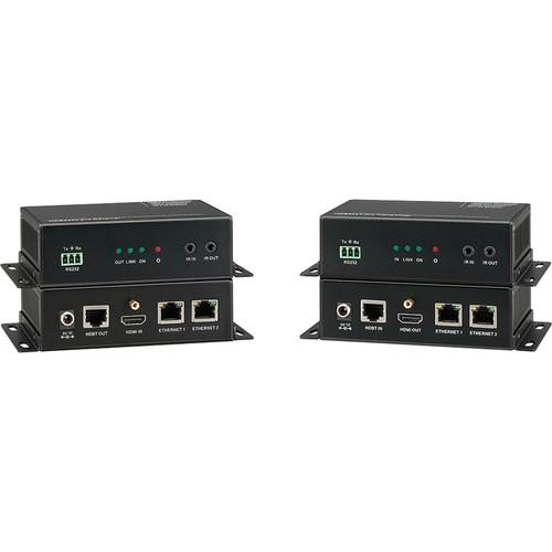 KanexPro HDBaseT Extender with 2-Port Ethernet HDBASE100ME