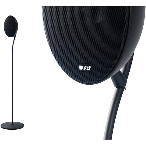 KEF Floorstand for E301 Satellite Speaker (Black) E