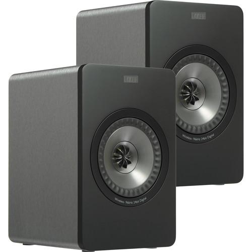 KEF X300A Wireless Powered 2-Way Digital Hi-Fi Speakers X300AWG