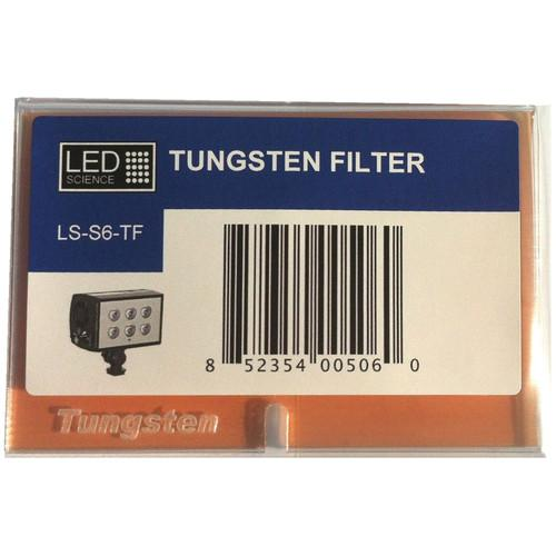 LED Science 3.200° K Tungsten Filter LE LS-S6-TF