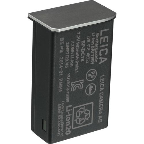 Leica BP-DC13 Lithium-Ion Battery (7.2V, 985mAh, Silver) 18772