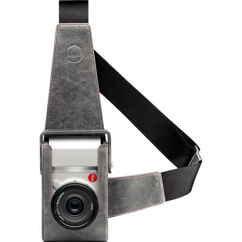Leica Leather Holster for Leica T Camera (Stone/Gray) 18809