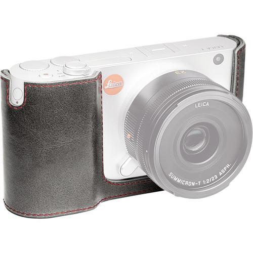 Leica Leather Protector for Leica T Camera (Stone Gray) 18800