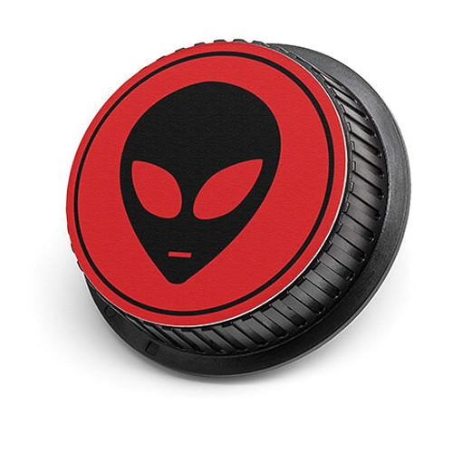 LenzBuddy Alien Rear Lens Cap for Canon Cameras (Red) 52107-03