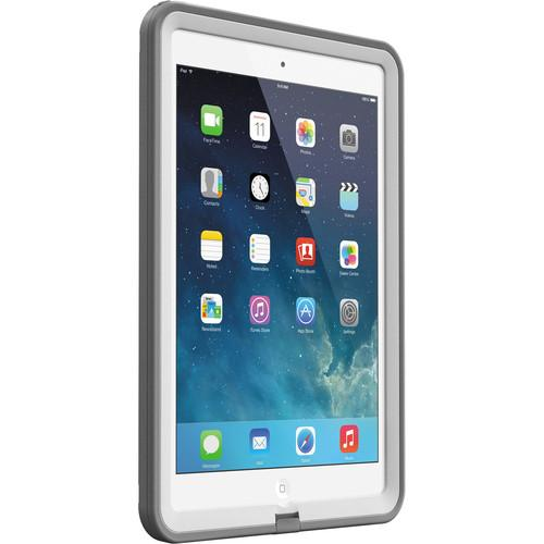 LifeProof frē Case for iPad Air (White/Gray) 1905-02