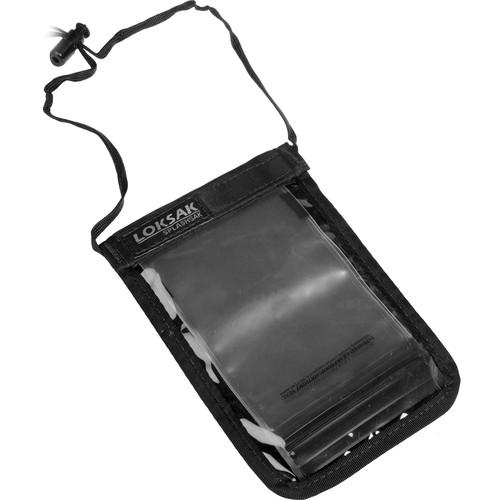 LOKSAK SPLASHSAK Phone Neck Caddy (Black) LOK-NC-P-BK