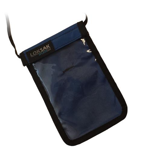 LOKSAK SPLASHSAK Phone Neck Caddy (Regatta Blue) LOK-NC-P-RG