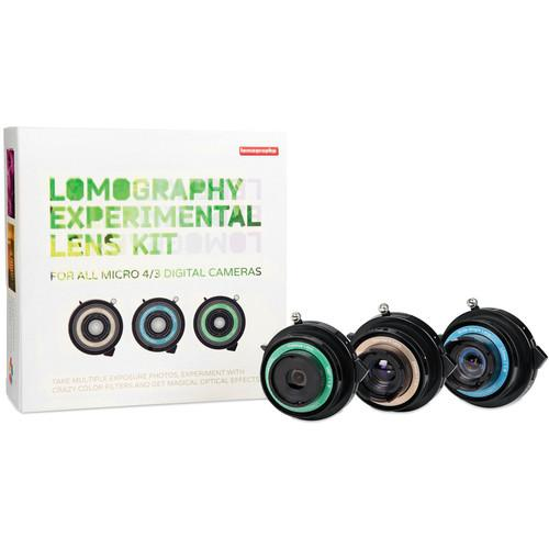 Lomography Experimental Lens Kit for Micro Four Thirds Z760