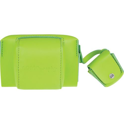 Lomography Fisheye Leather Case (Lime Punch) B800LP