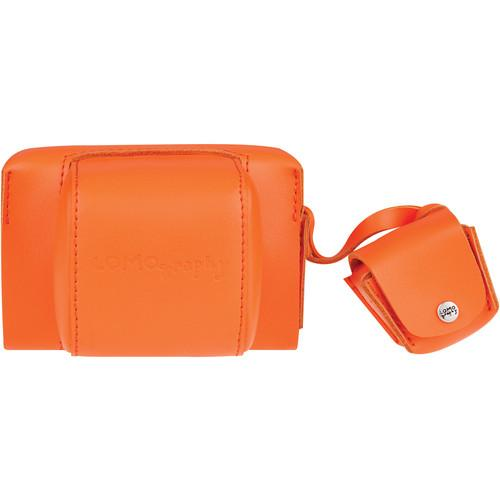 Lomography Fisheye Leather Case (Vibrant Orange) B800VO