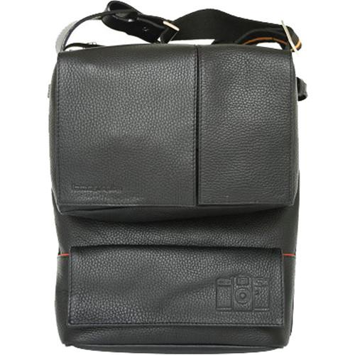 Lomography Sidekick Lite Leather Bag (Black) B490