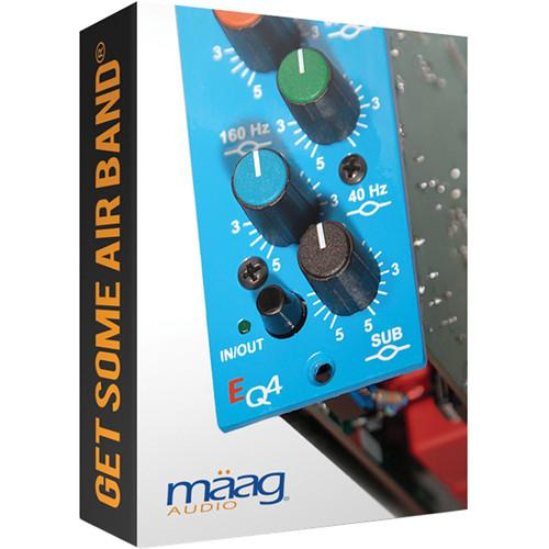 Maag Audio EQ4 - 6 Band Equalizer with AIR BAND Plug-In MAAG EQ4