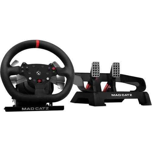 Mad Catz Pro Racing Force Feedback Wheel and MCB48503NM02/01/1