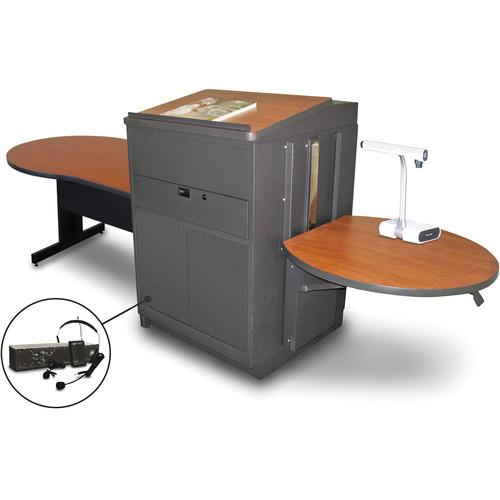 Marvel Vizion Keyhole Table with Media Center, MVLTKM4830CHDT-E