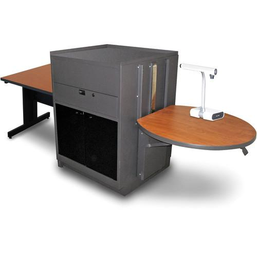 Marvel Vizion Rectangular Table with Media Center MVMTRA3630CHDT