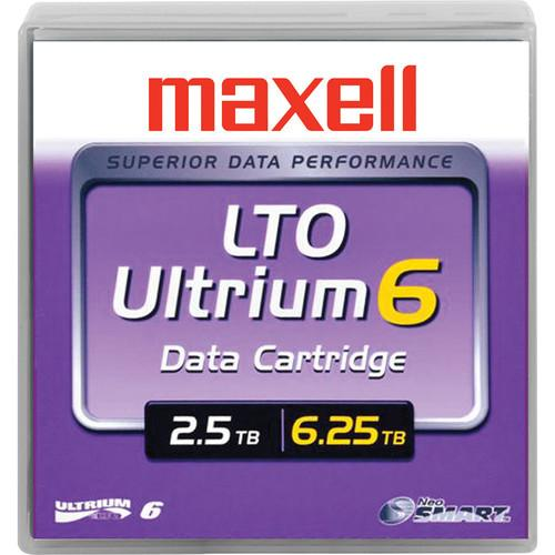 Maxell LTO Ultrium 6 Tape Cartridge (Black) 229558