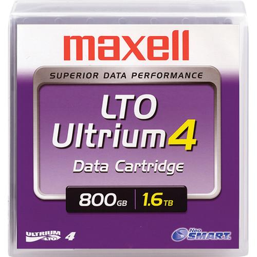 Maxell Ultrium 4 LTO 4 Data Cartridge with NeoSMART 183906