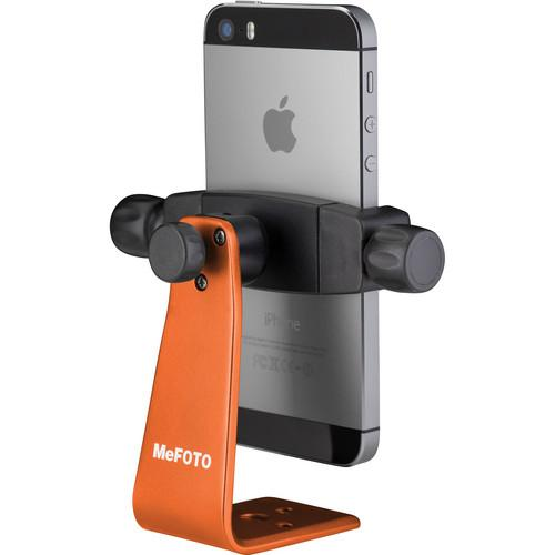 MeFOTO SideKick360 Smartphone Tripod Adapter (Orange) MPH100C