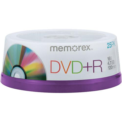 Memorex DVD R 4.7GB 16x Single Sided Recordable Discs 05618