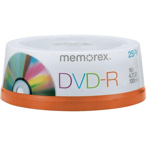 Memorex DVD-R 4.7GB 16x Write-Once Recordable Discs 05638