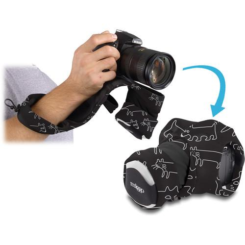 miggo Grip and Wrap for DSLR Cameras (Space Zoo) MW GW-SLR PS 70