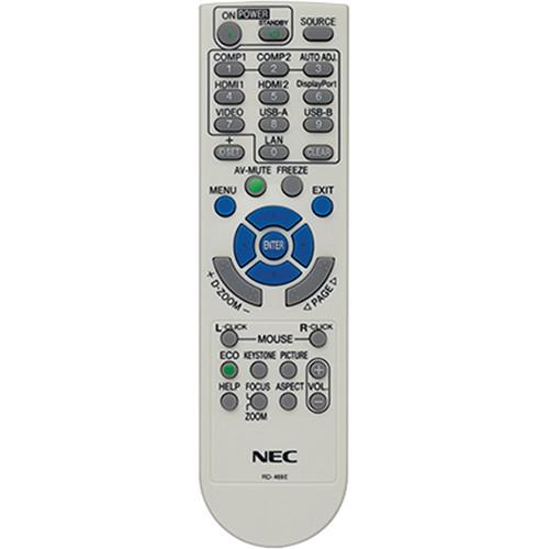 NEC RMT-PJ36 Replacement Remote Control for NP Series RMT-PJ36