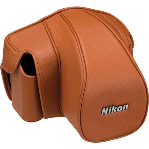 Nikon CF-D6S Leather Case Set for Nikon Df (Brown) 5000