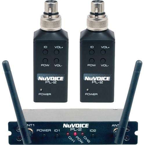 NuVoice PL-2 Dual-Channel Digital Wireless System PL-2