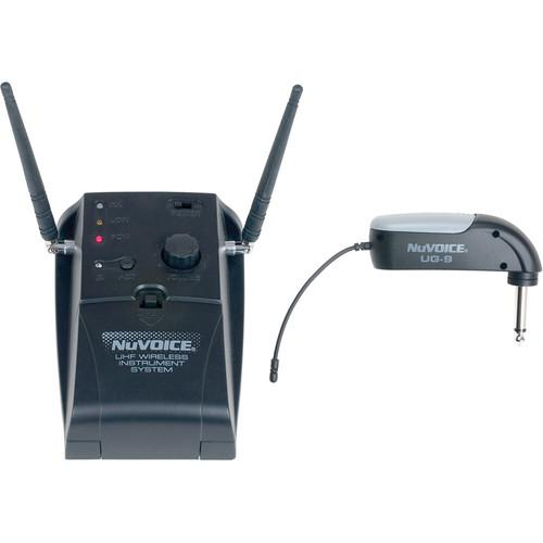 NuVoice UG-9 Wireless Guitar System with 1/4
