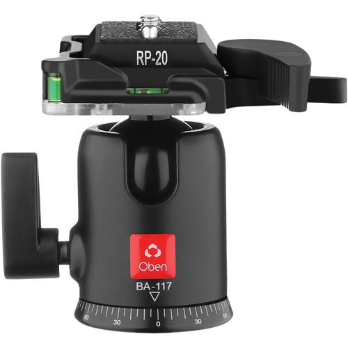 Oben  BA-117 Single Lever Ball Head BA-117