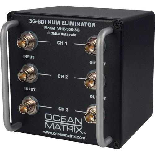Ocean Matrix 3G-SDI Video Hum Eliminator (3-Channel) VHE-300-3G