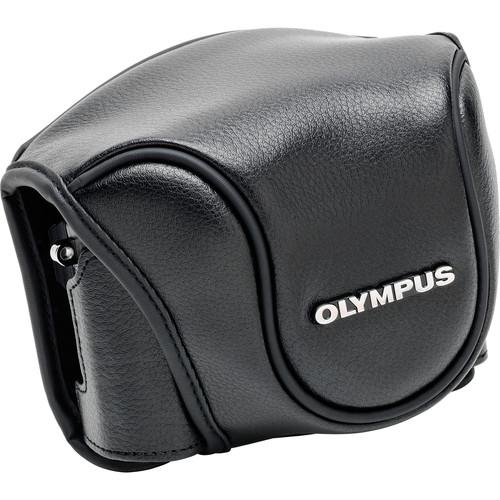 Olympus Leather Camera Case for Stylus 1 Camera V600079BW000