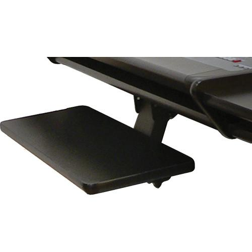 Omnirax KMSNV-B Adjustable Keyboard / Mouse Shelf KMSNV-B