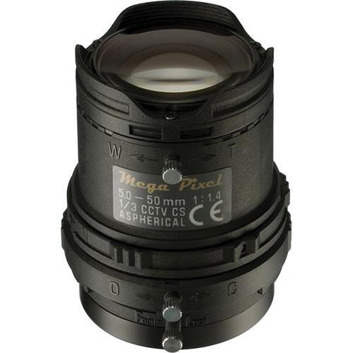 Panasonic CS-Mount 5-50mm f/1.4-360 DC Auto Iris Lens PLAMP0550