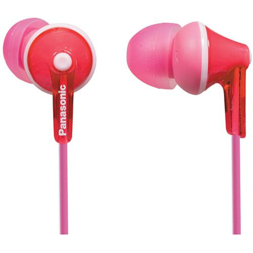 Panasonic ErgoFit In-Ear Headphones (Pink) RP-TCM125-P