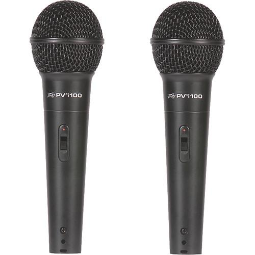 Peavey PVi 100 Dynamic Cardioid Microphone (2-Pack) 03016900