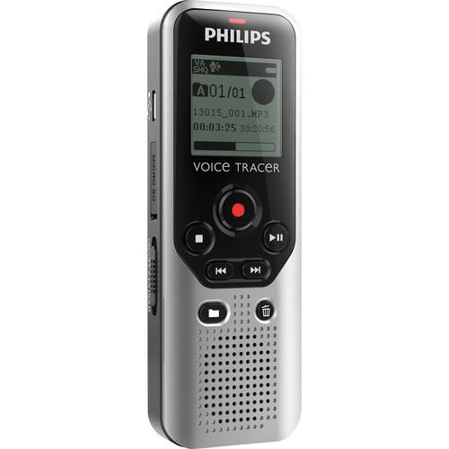 Philips 4GB Voice Tracer 1200 Digital Recorder DVT1200