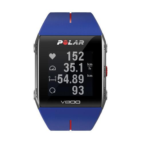 Polar V800 Fitness Watch with Heart Rate Monitor (Blue) 90050556