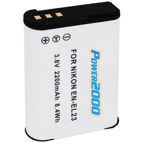Power2000 EN-EL23 Rechargeable Lithium-Ion Battery ACD-423