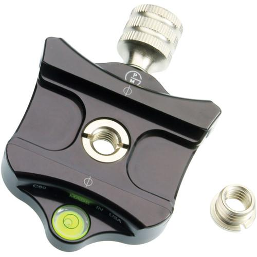 ProMediaGear 60mm Quick Release Clamp for Arca-Swiss Type C60
