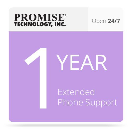 Promise Technology 1-Year Extended 24/7 Phone PR1Y24X7EXTP