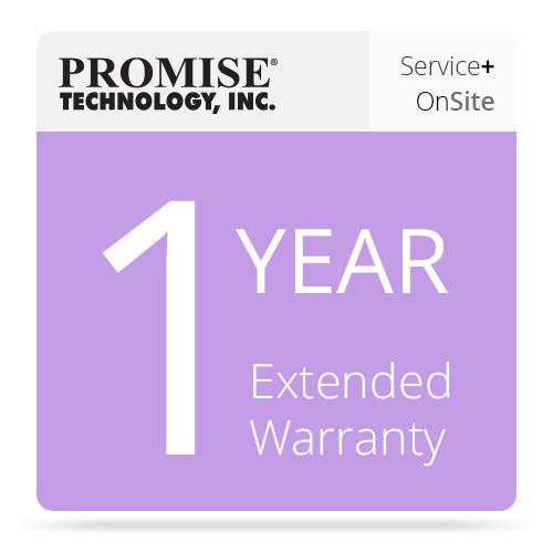 Promise Technology 1-Year Promise ServicePlus Onsite PR1YPSPEXT