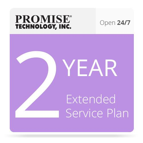 Promise Technology 2-Year 24/7 Extended Support Plan VJ2KSE2YRAA