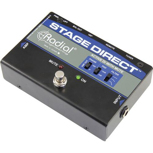 Radial Engineering StageDirect Active Direct Box R800 1170
