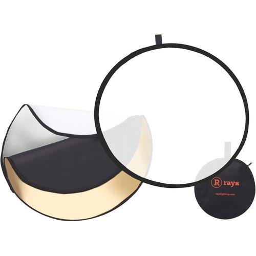 Raya 5-in-1 Collapsible Reflector Disc (22