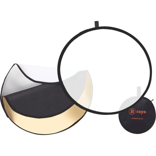 Raya 5-in-1 Collapsible Reflector Disc (32
