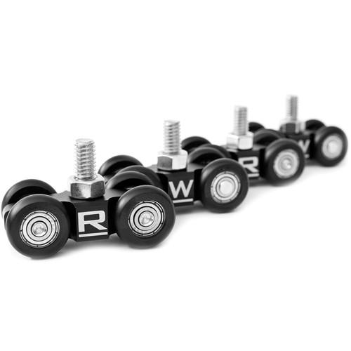 RigWheels MicroWheel Camera Dolly Wheels (4-Pack) MW04